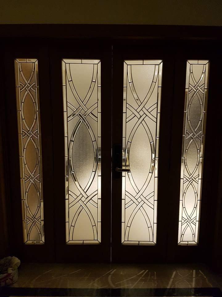 Bevel doors13 midland glazing - Cristales decorados para puertas ...